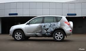 Аэрография на автомобилях как бизнес