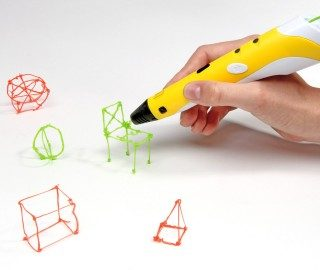 Использование 3д ручки