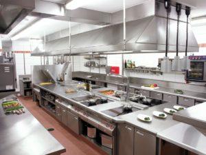 Необходимое оборудование для кухни ресторана или кафе