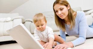 Работа на дому, мамам полезные советы