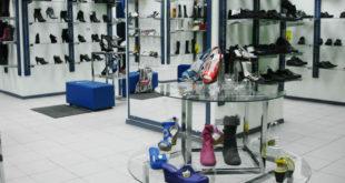 Торговое оборудование для магазина обуви от «ВистаПлюс»