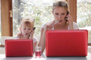 Заработок в Интернете или работа для молодых мам
